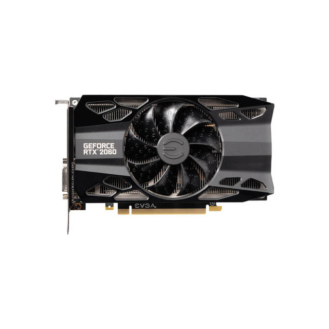 Details about EVGA NVIDIA GeForce RTX 2060 XC BLACK GAMING 6GB GDDR6  DVI/HDMI/2DisplayPorts